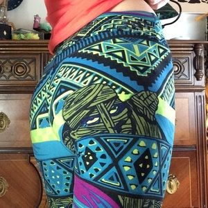 LuLaRoe Pants - Lularoe Mummy Leggings Halloween Outfit 🎃 Tunic